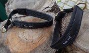 Black Wolf kennelhalsband gepolsteerd