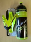 CRUSSIS NEON Green Bottle and Holder